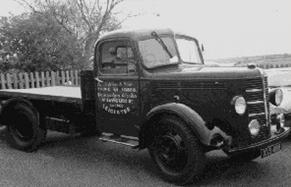 Siddons Packaging Bedford Lorry