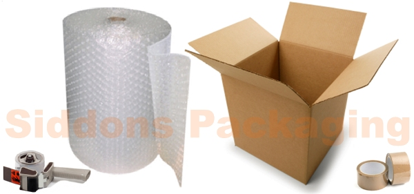 Siddons Packaging Products - Cartons, Bags, Bubblewrap, Tape, and much more