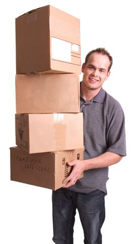 Sipak Self-Store - Man carrying boxes